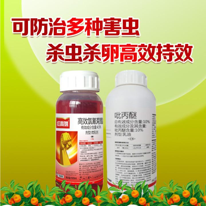 柑橘主要虫害防治套餐 1套