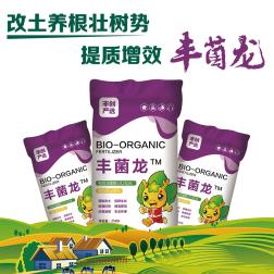 【丰创严选】丰菌龙生物有机肥25kg(通用版2号) 25kg*1袋