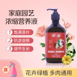【丰创严选】蜜乐花家庭园艺浓缩营养液 通用型 500mL 500ml*1瓶