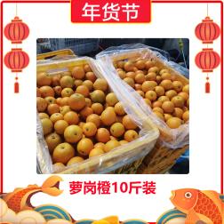 【年货节】广州萝岗橙10斤装 5kg*1包
