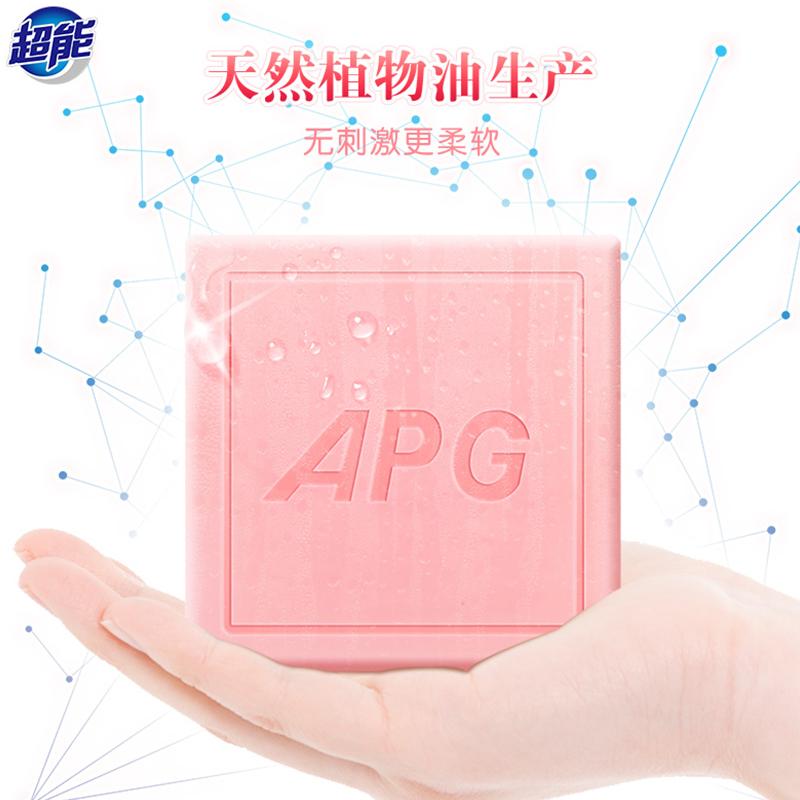 超能APG香水透明皂(浪漫樱花香)160g*6块 1Pcs