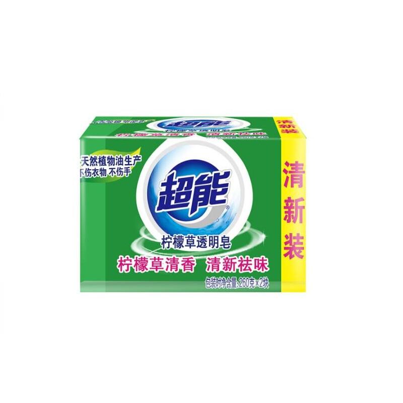 超能柠檬草透明皂 260g 1Pcs