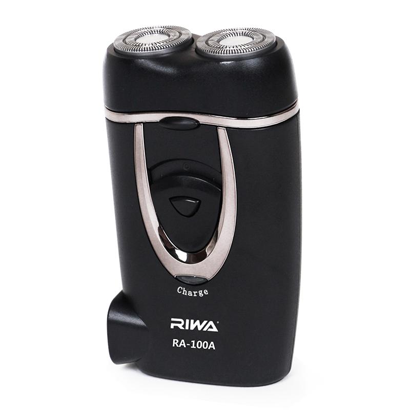 雷瓦(RIWA)双环刀网充电式剃须刀RA-100A 黑色 1Pcs