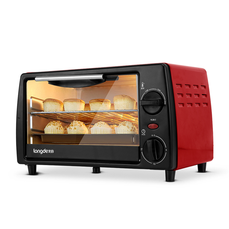 龙的电烤箱LD-KX12A  红色   红色 1Pcs
