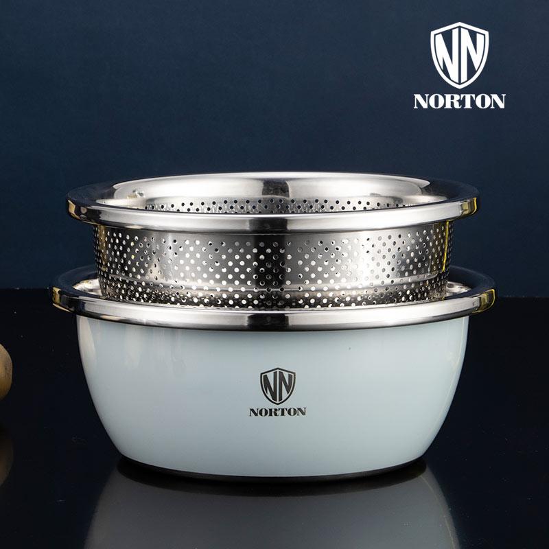 诺顿营养多用调料盆(2件套)5GYY002   1Pcs