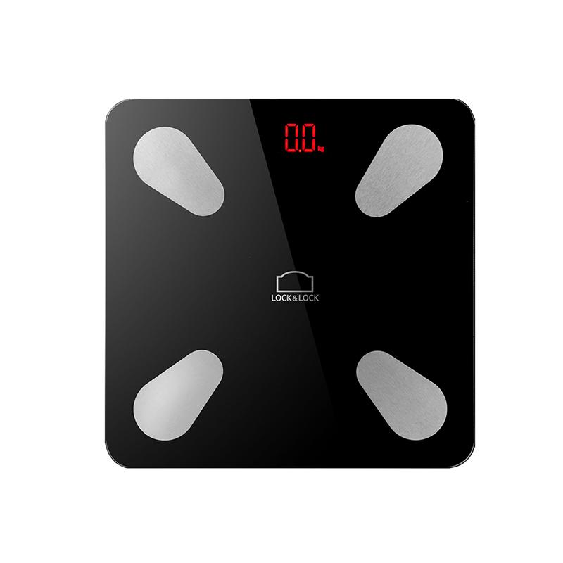 多功能家用脂肪秤LSC-B110FU  黑色   1Pcs