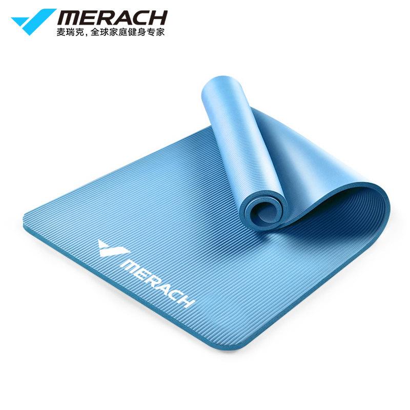 麦瑞克(MERACH)瑜伽垫健身房加长地垫加厚加宽YJD   1Pcs