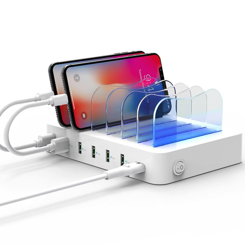 SOOPII-首佩soopii cs60多口USB充电站白色 1Pcs
