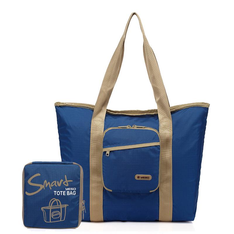 户外大师 YESO 折叠手提袋 smart03-1  深蓝色 1Pcs