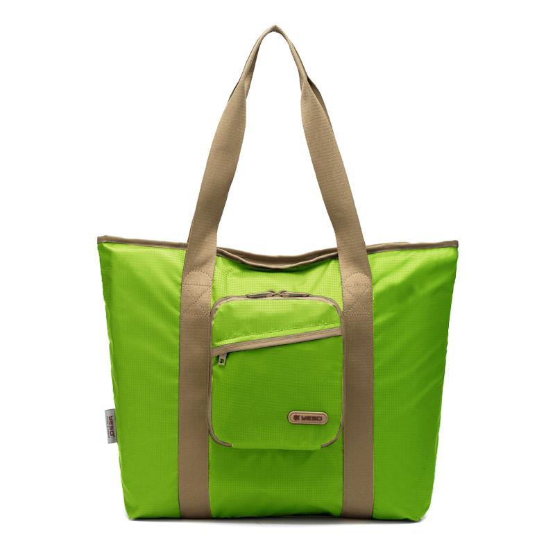 户外大师 YESO 折叠手提袋 smart03-1  荧光绿 1Pcs