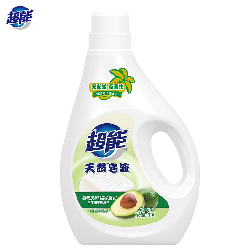 超能天然皂液1kg  1Pcs