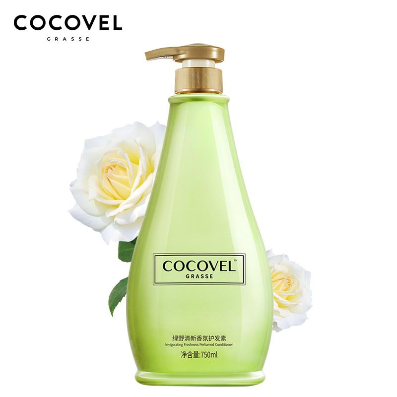 Cocovel 寇露薇格拉斯系列绿野清新 香氛护发素750m 1Pcs