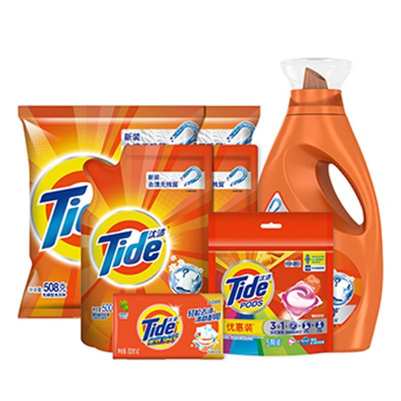 宝洁清洁系列 · 焕新除渍组合(洗衣液2kg+洗衣液500g 1Pcs