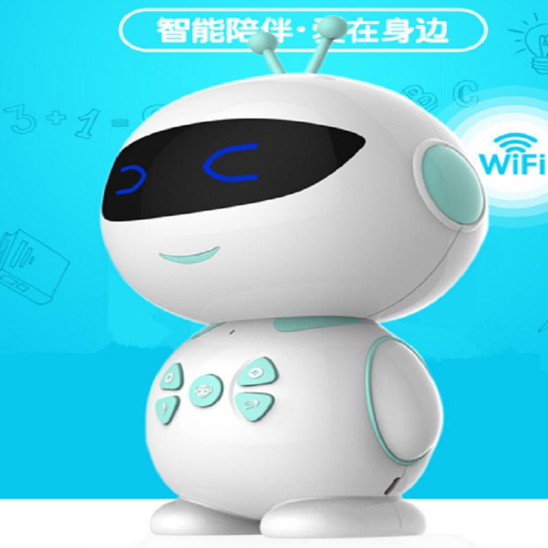 乐贝熊教育机器人X6  蓝色   1Pcs