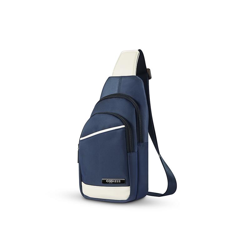 爱登堡(Edenbo)旅行休闲胸包F1769 蓝色  蓝色  1Pcs