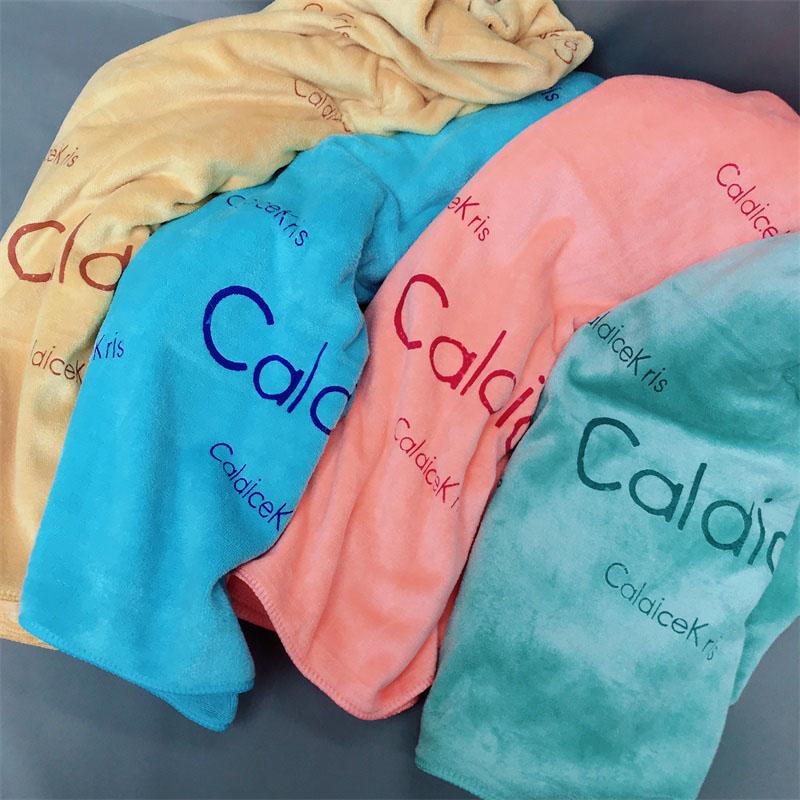 CaldiceKris(中国CK)糖果色长绒浴巾CK-J09 1件