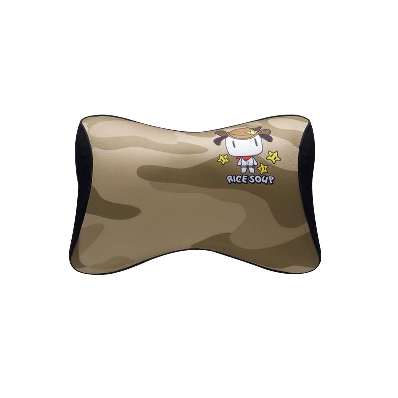 爱车屋米汤3D迷彩头枕T-617AY-Y  香槟黄  1件