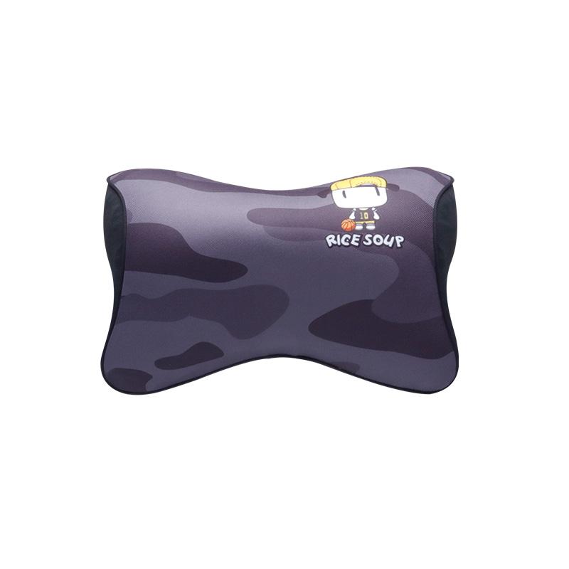 爱车屋米汤3D迷彩头枕T-617AY-H  灰色 1件