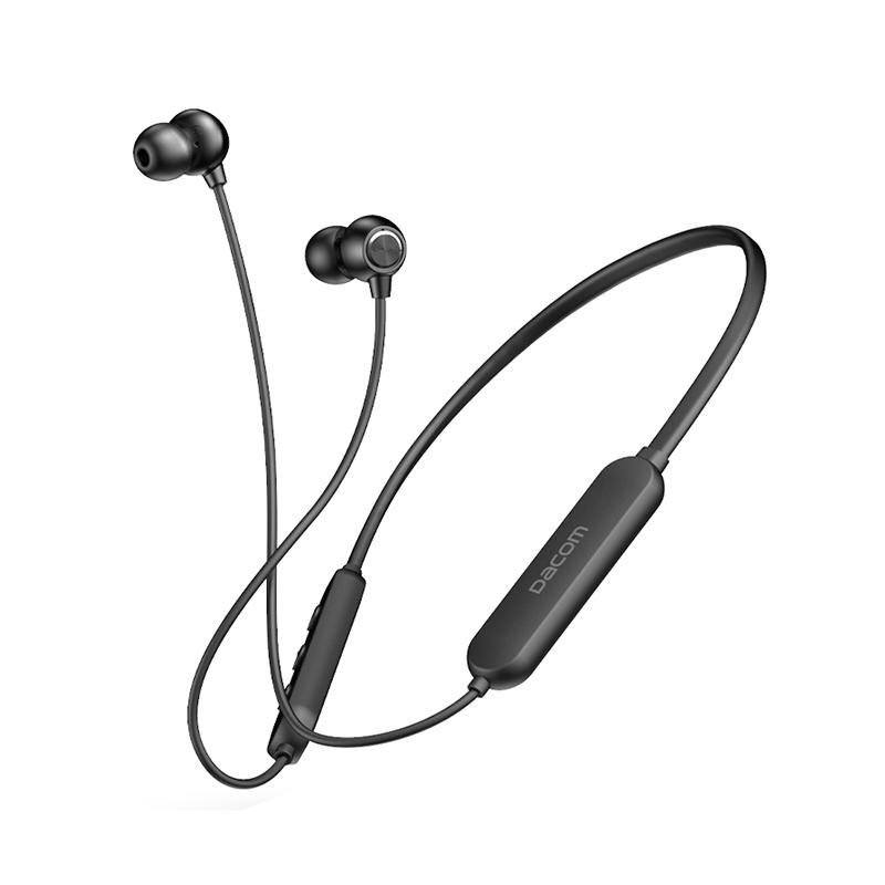 DACOM 无线蓝牙耳机运动跑步双耳入耳式挂脖防汗苹果安卓 1件