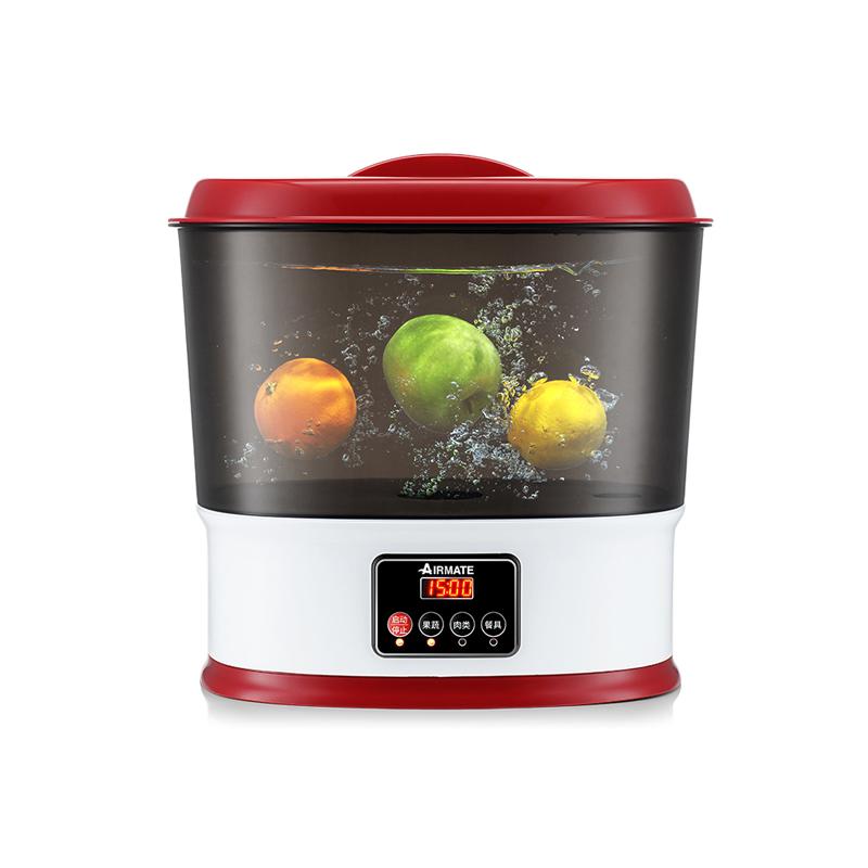 艾美特 果蔬解毒机清洗机 SX1006  红色 1件