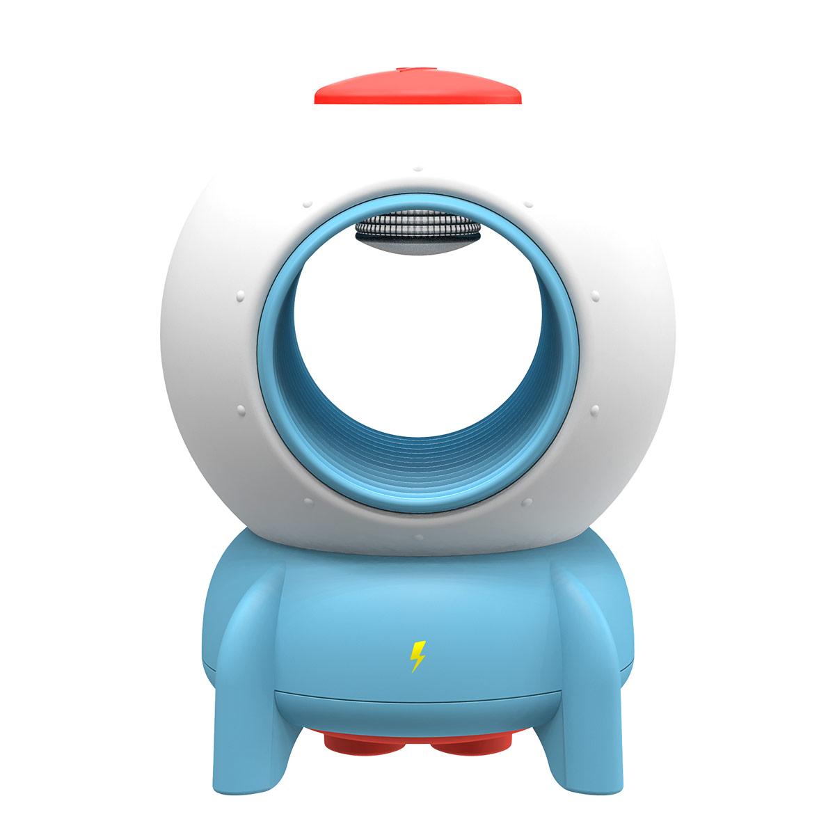 bcase火箭灭蚊灯神器家用室内孕妇婴儿物理灭蚊灯静音驱蚊器 1件