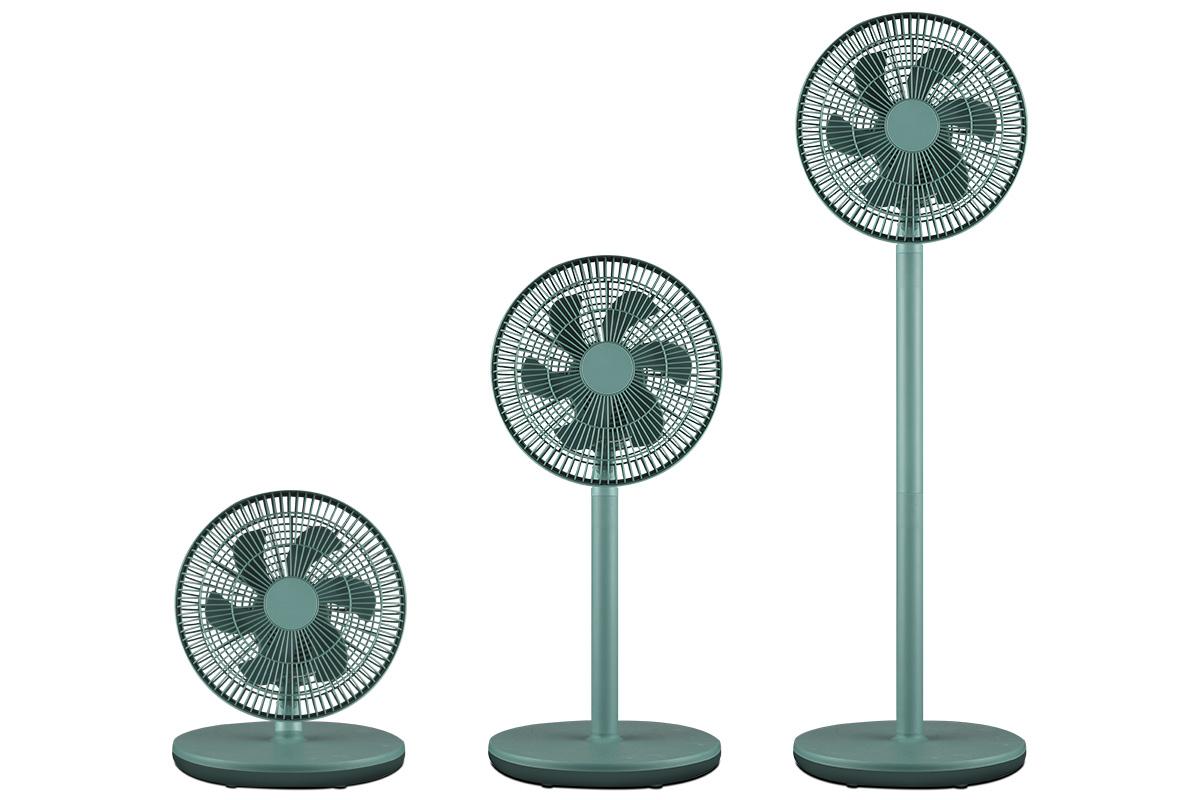 亨特 多用落地电风扇HTF-F11家用静音电风扇节能科技风电 1件