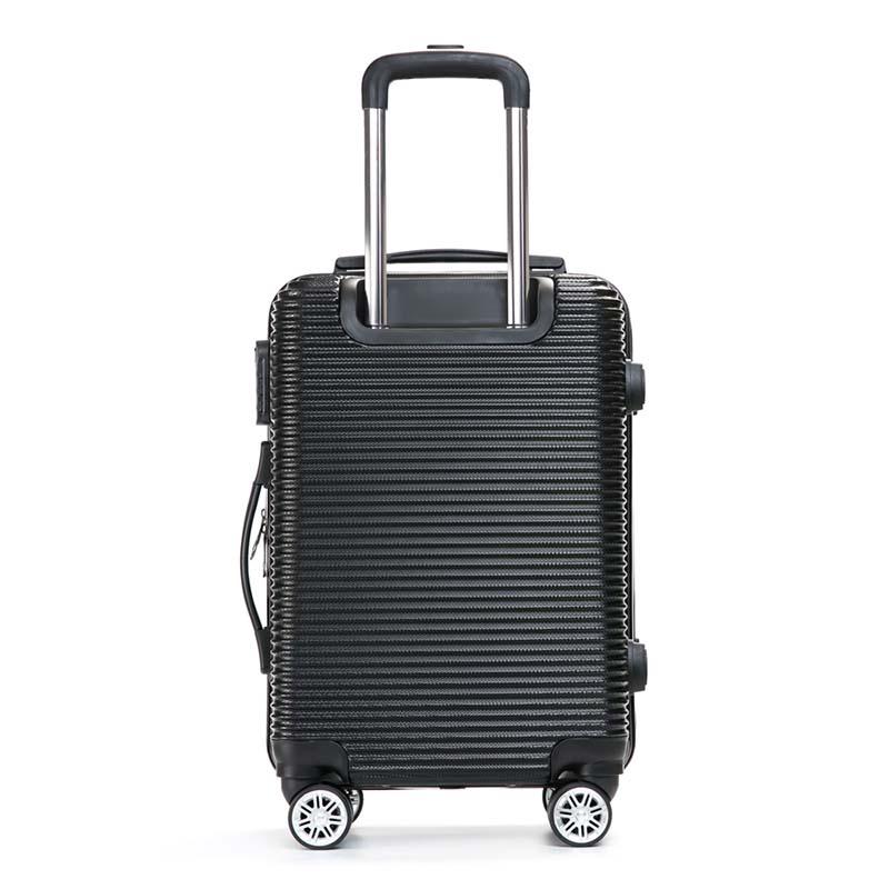 才子(TRIES)商务旅行拉杆箱24寸登机箱Z9098 黑 1Pcs