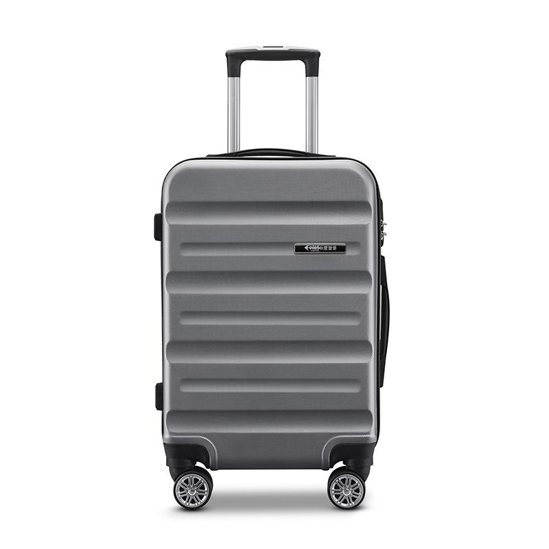 爱登堡商务旅行拉杆箱20寸登机箱F918 灰色 20寸 1Pcs