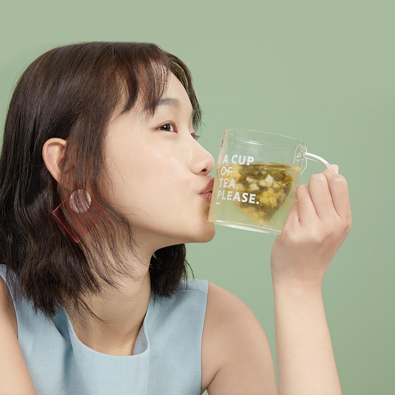 北鼎 高硼硅玻璃杯泡茶杯耐高温 350ml 1Pcs