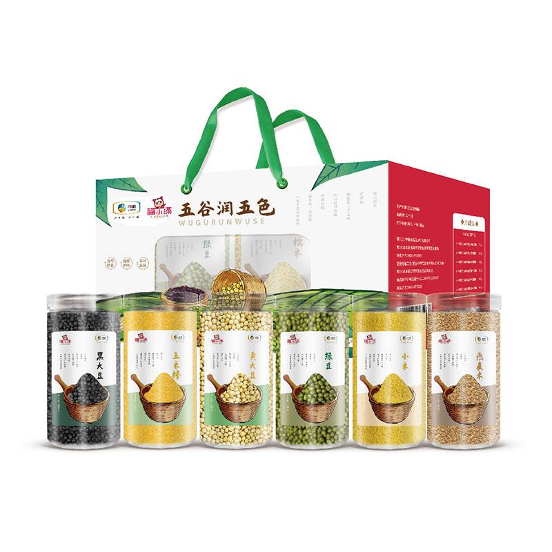 中粮福小满 杂粮礼盒2500g 1Pcs