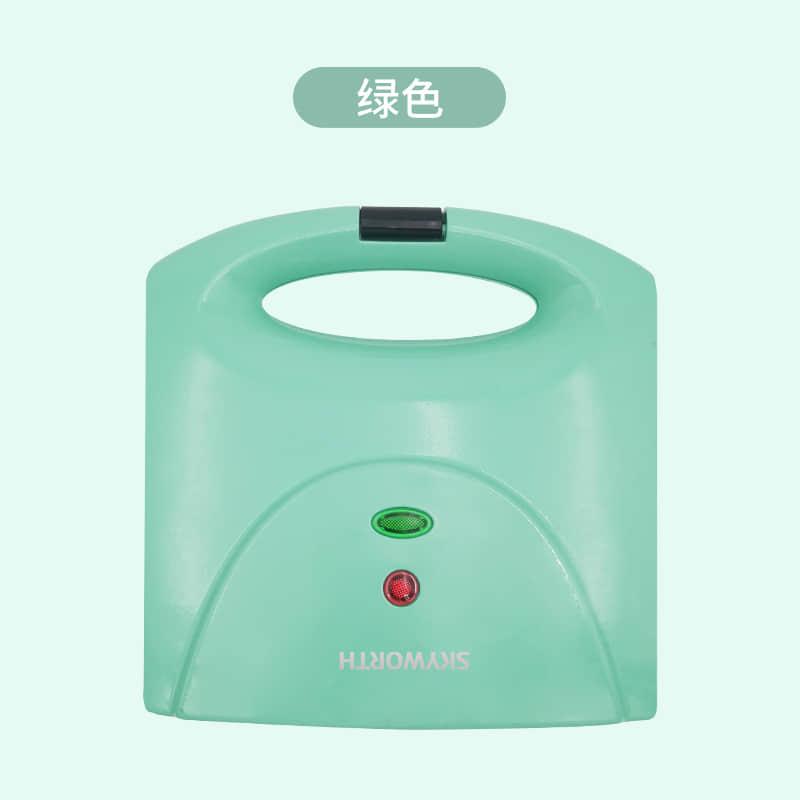 创维三明治机电饼铛早餐机家用多功能轻食机绿色K38 1Pcs