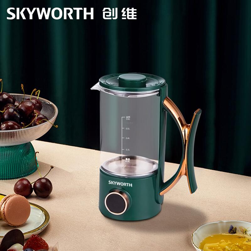 创维 养生壶 家用一体养生壶加热茶壶玻璃煮茶器S117 1Pcs