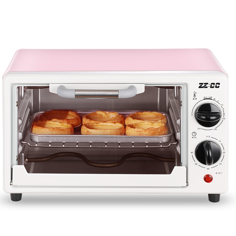 荣事达 电烤箱 家用多功能烘焙迷你电烤箱ZC-KX10A 1Pcs
