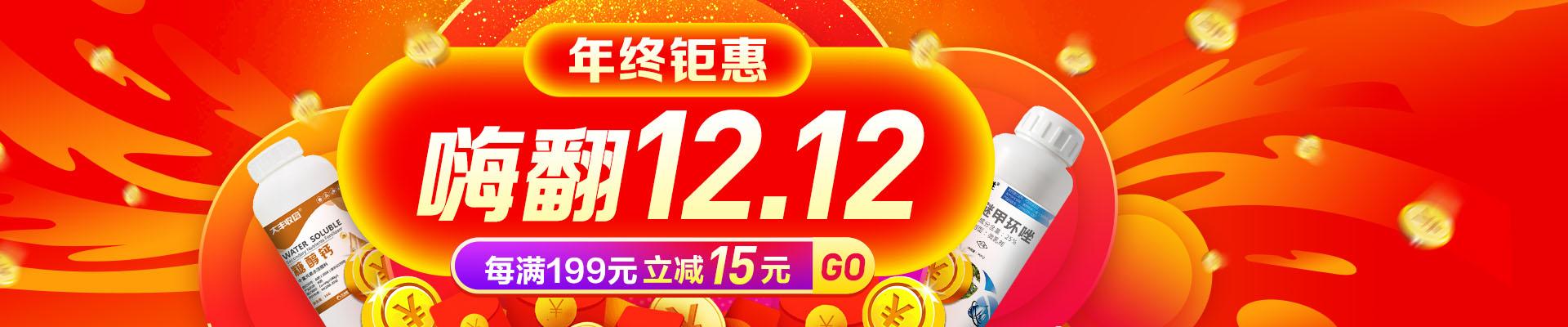 【12月】双12满减