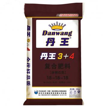 武汉中农 丹王 全优3+4  18-18-18(50kg)