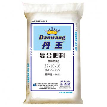 武汉中农  丹王 复合肥料 22-10-16(50kg)