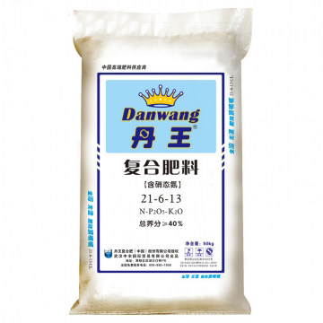 武汉中农  丹王  复合肥料 21-6-13(50kg)