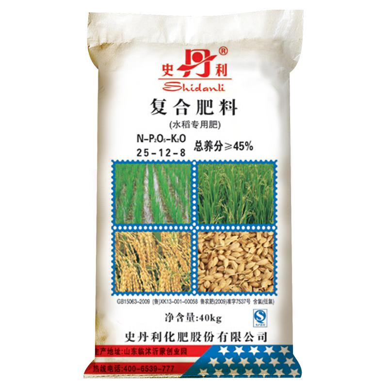 史丹利 复合肥料(水稻专用肥)25-12-8(40kg)