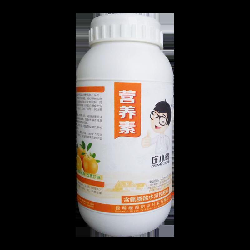 昆明绿都 庄小哥 营养素水溶肥 氨基酸≥100. 900ml*12瓶