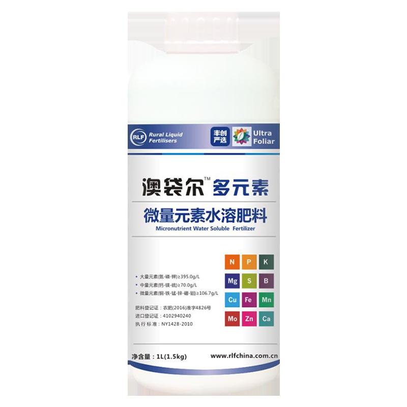 【丰创严选】埃尔夫澳袋尓多元素水溶肥料1L 1L*1瓶