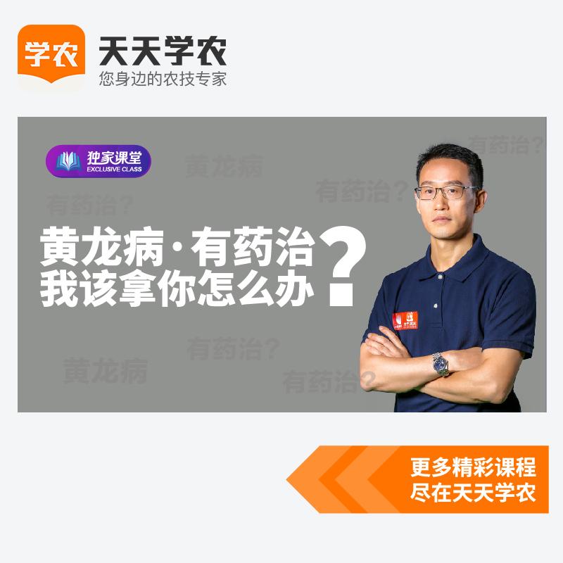 一招控制黄龙病(网上课程) 1套