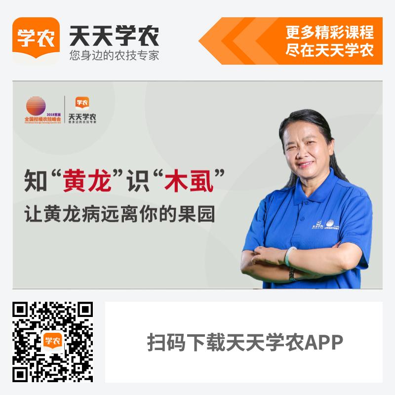 柑橘黄龙病的研究防控(网上课程) 1套