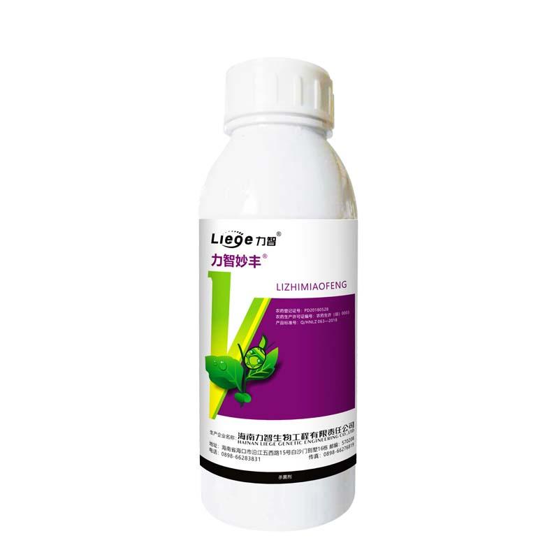 力智妙丰47%烯酰·吡唑醚菌酯悬浮剂500ml 500ml*1瓶