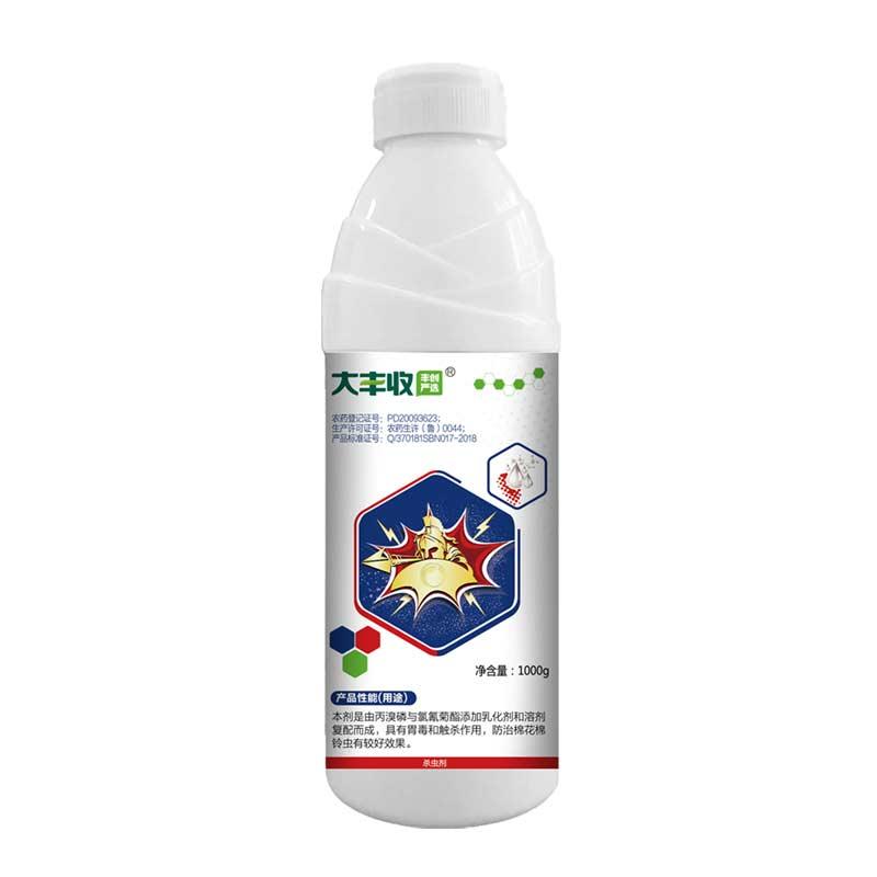 【丰创严选】440g/L氯氰·丙溴磷 乳油1000g 1000g*1瓶