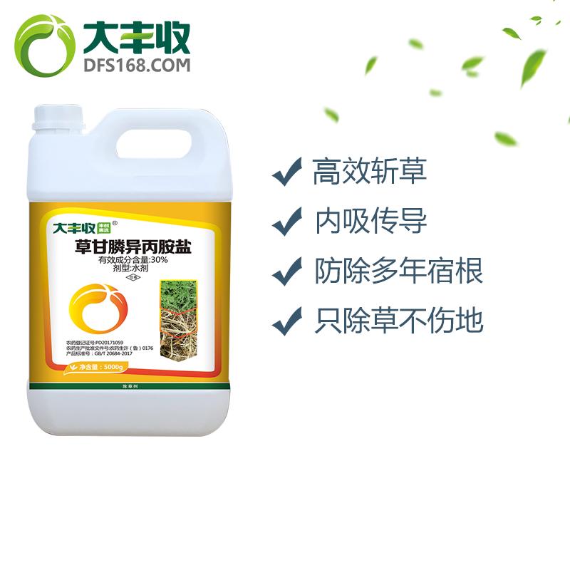 【丰创惠选】41%草甘膦异丙铵盐水剂5000g 5000g*1桶