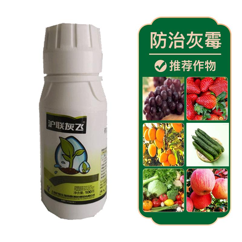 上海沪联沪联灰飞40%嘧霉胺悬浮剂100g 100g*1瓶