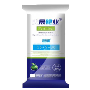 美晨 芭润15+5+30 氮≥15% 磷≥5% 钾≥30%